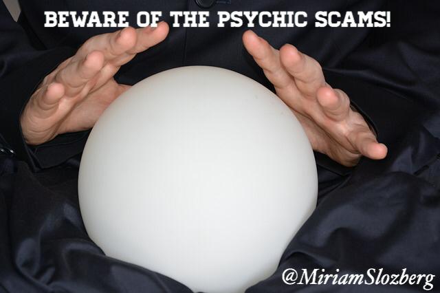 Miriam Slozberg psychic scams